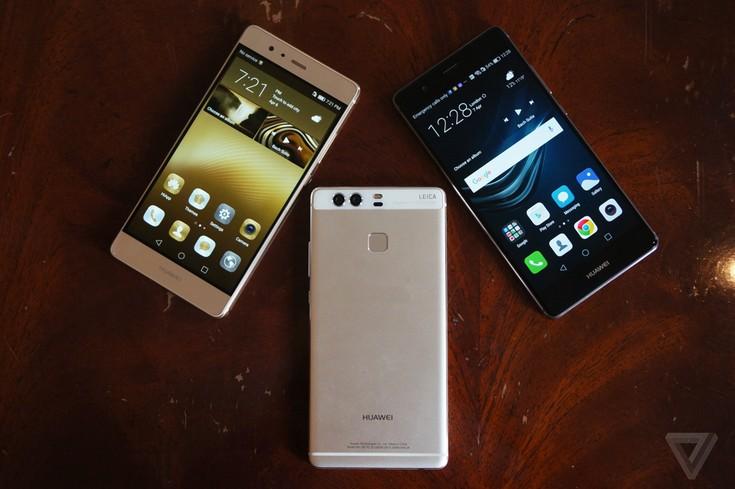 Huawei показала смартфоны P9, P9 Plus и P9 Lite