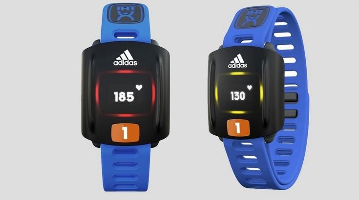 Пульсометр Adidas Zone стоит $140