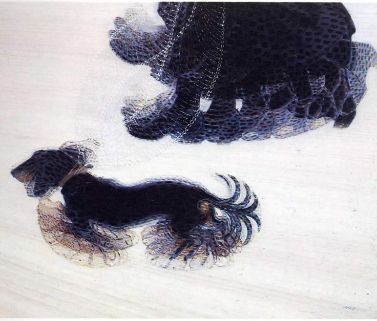 Dynamism of A Dog on a Leash (1912) Giacomo Balla