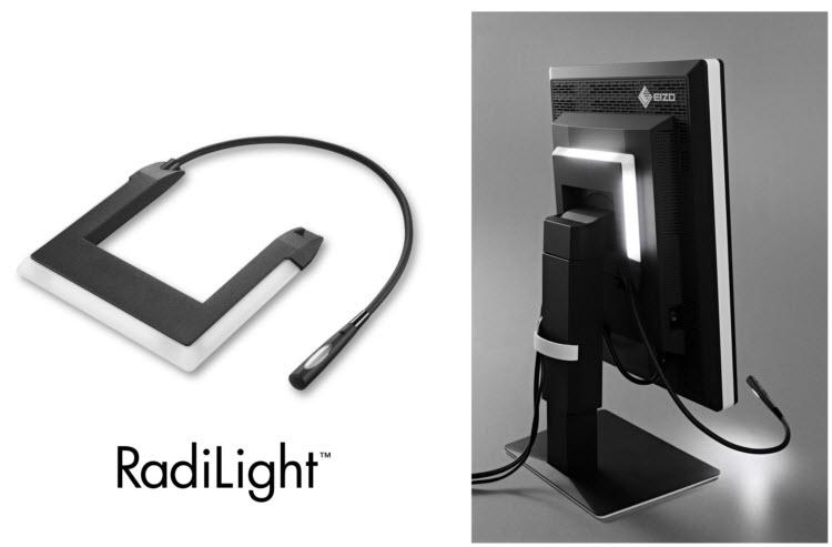Представлен осветительный аксессуар Eizo RadiLight для медицинских мониторов Eizo RadiForce