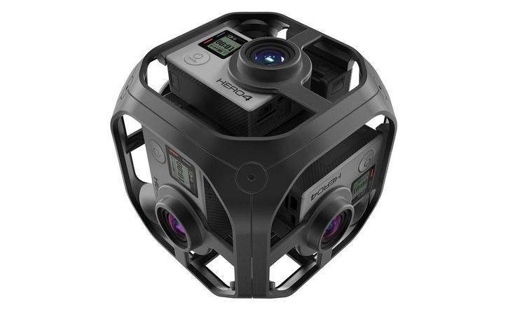 Устройство GoPro Omni вмещает шесть камер Hero4