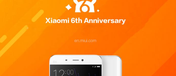 Xiaomi отпраздновала шестой день рождения, установив новый рекорд