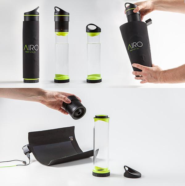 Бутылка, конденсирующая воду из воздуха, вскоре поступит в продажу - 3