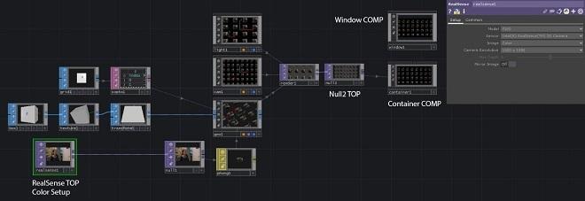 Использование камеры Intel RealSense с TouchDesigner. Часть 1 - 15