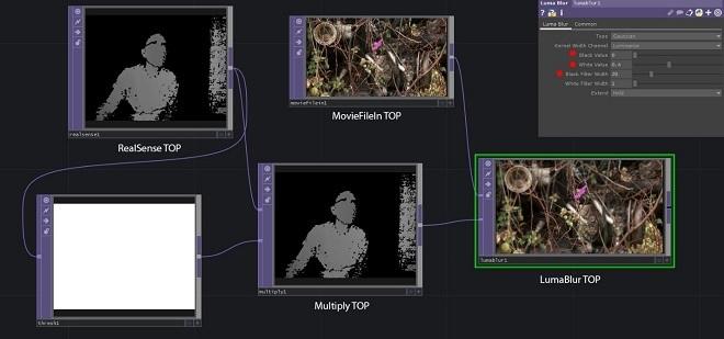 Использование камеры Intel RealSense с TouchDesigner. Часть 1 - 17