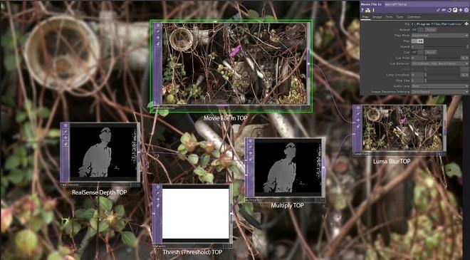 Использование камеры Intel RealSense с TouchDesigner. Часть 1 - 18
