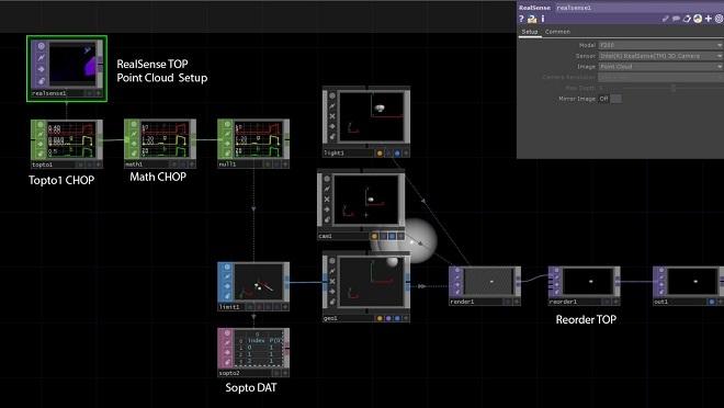 Использование камеры Intel RealSense с TouchDesigner. Часть 1 - 20
