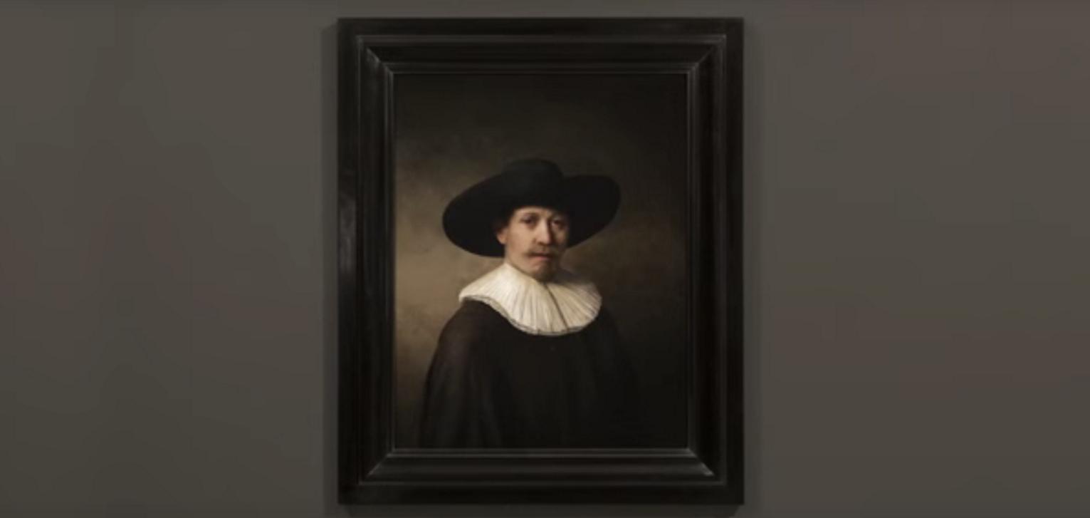 Компьютер написал новую картину Рембрандта через 347 лет после смерти художника - 1
