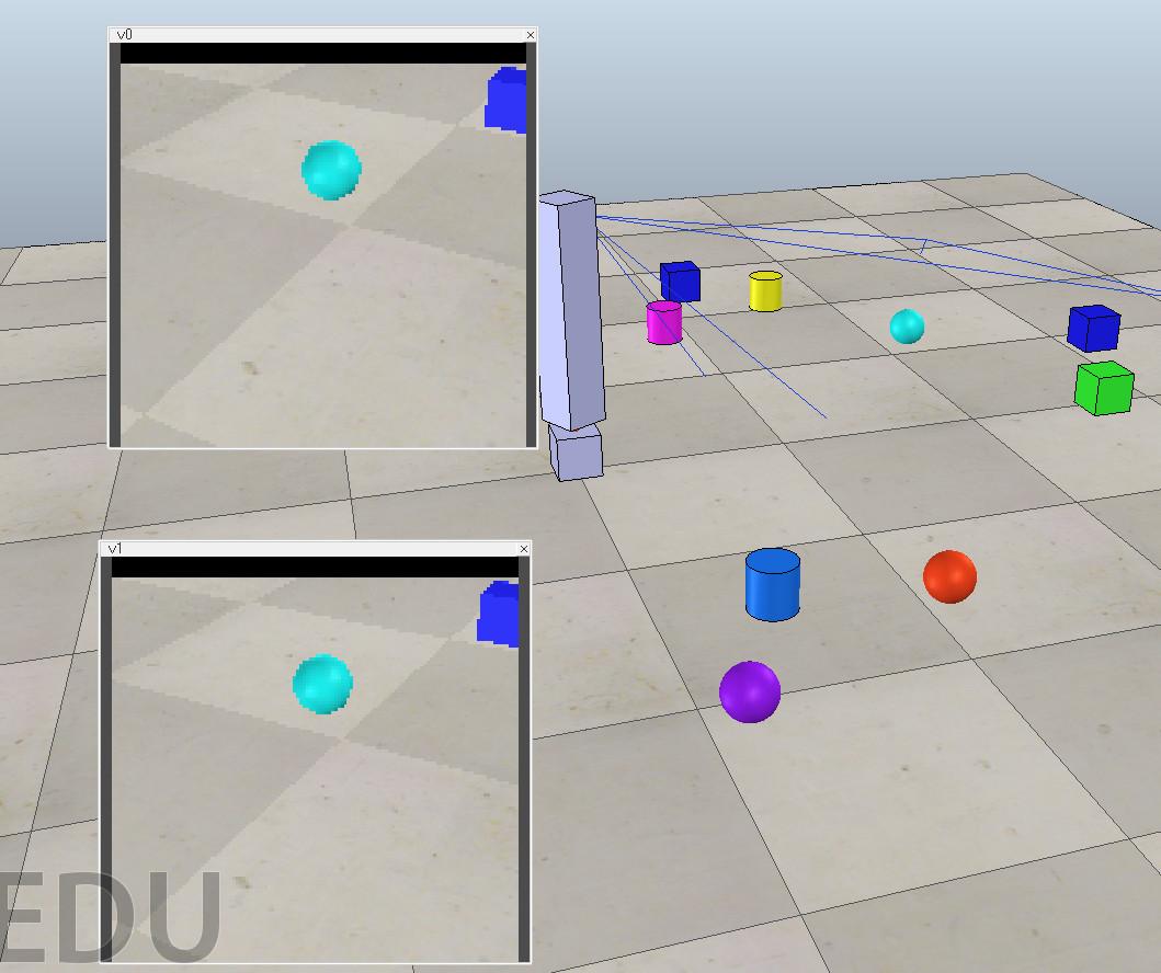 Компьютерное зрение и мобильные роботы. Часть 1 — V-REP, Python, OpenCV - 8