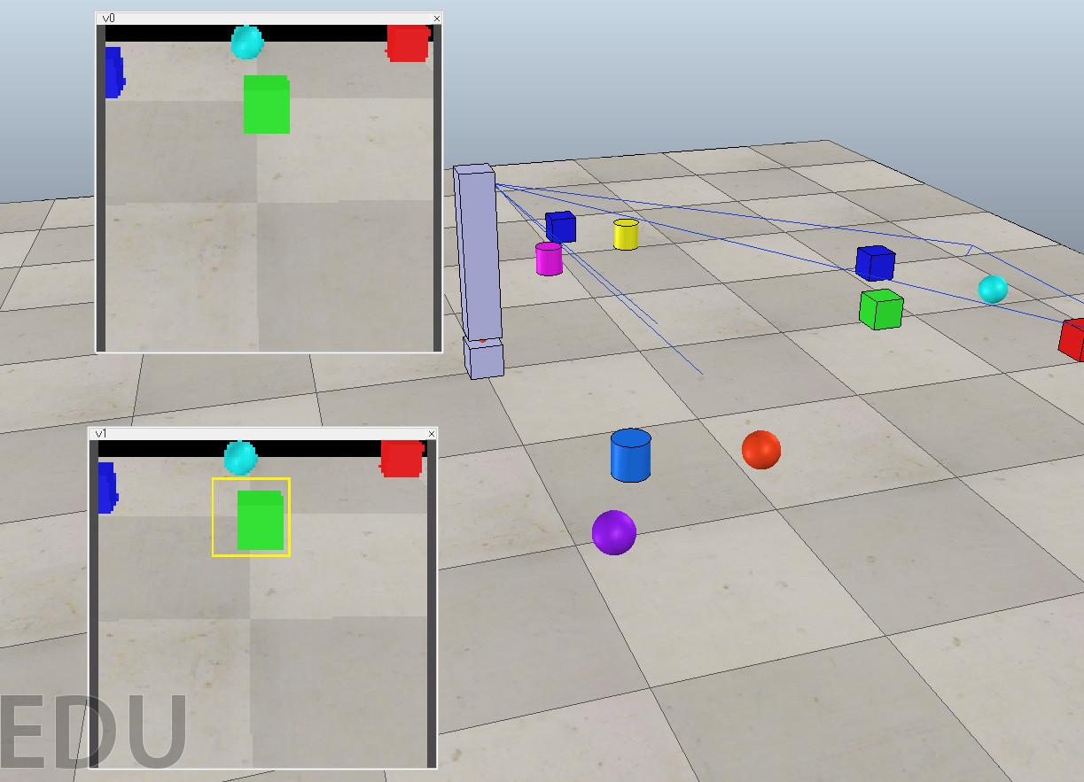 Компьютерное зрение и мобильные роботы. Часть 1 — V-REP, Python, OpenCV - 1