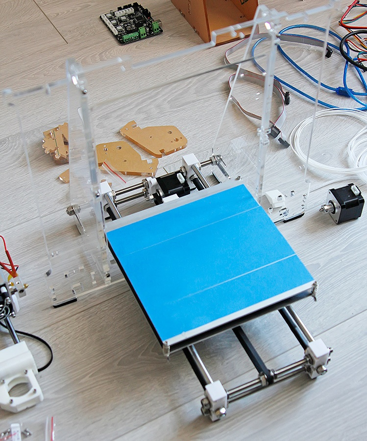 Недорогой конструктор 3D-принтера Аврора. Будет ли революция? - 13