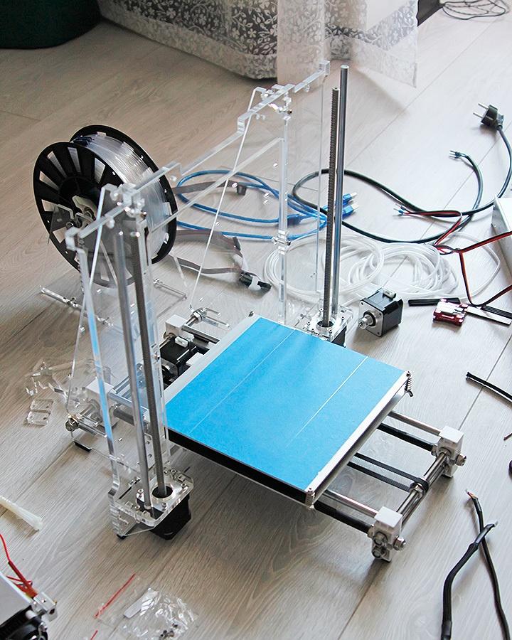 Недорогой конструктор 3D-принтера Аврора. Будет ли революция? - 22