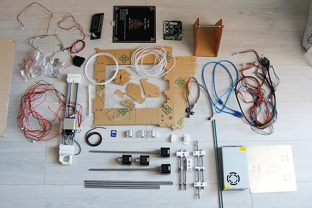 Недорогой конструктор 3D-принтера Аврора. Будет ли революция? - 3
