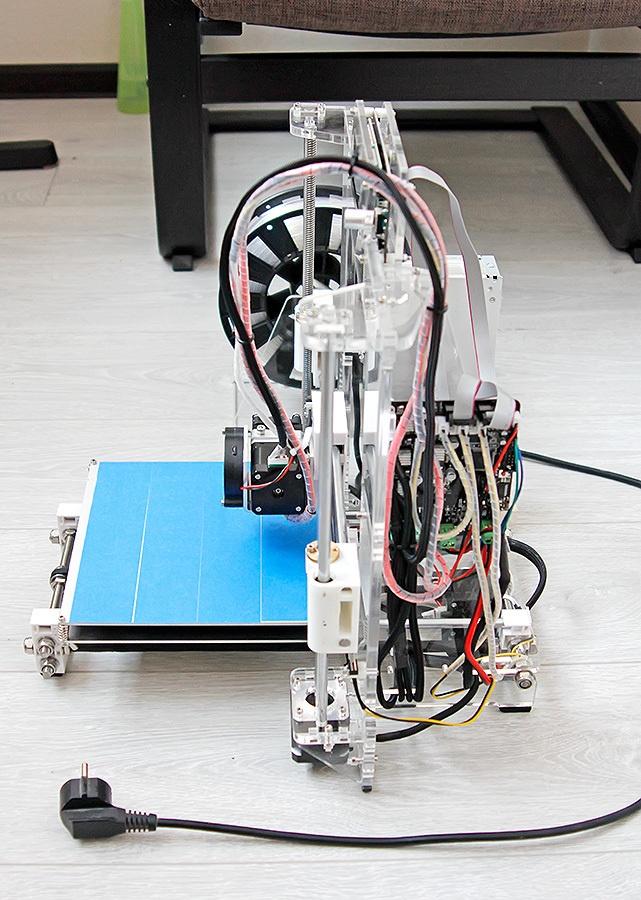 Недорогой конструктор 3D-принтера Аврора. Будет ли революция? - 41