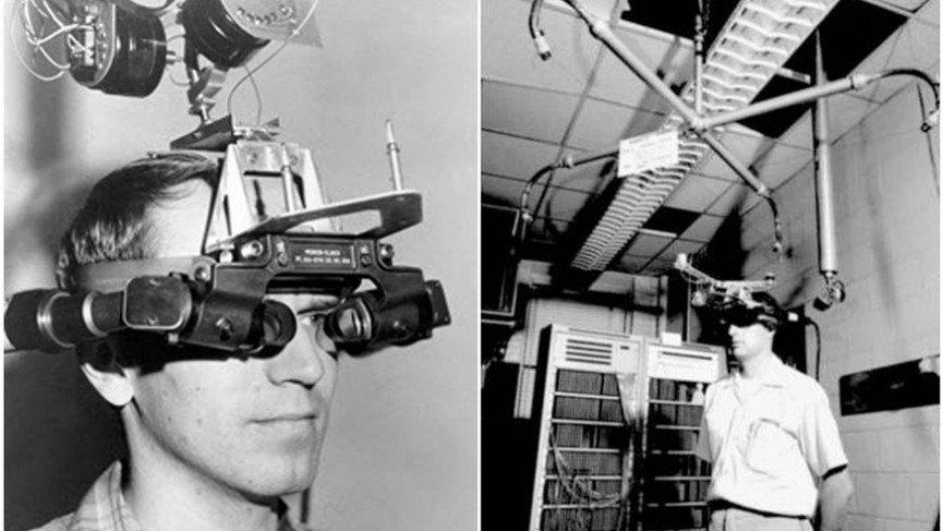 Происхождение виртуальной реальности: прототипы видеоочков и 3D шлемов из прошлого - 1