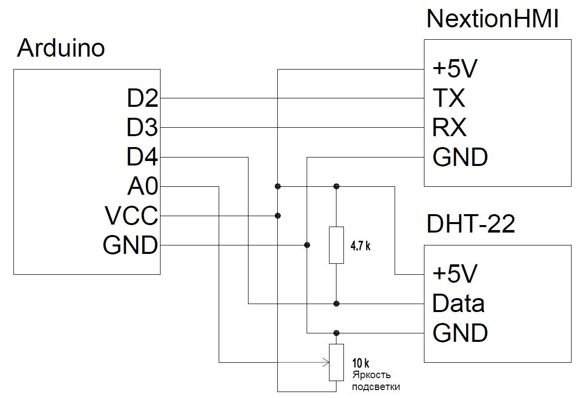 FLProg + Nextion HMI. Урок 2 - 2
