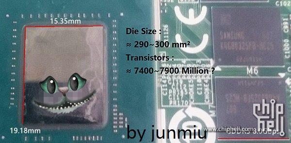 GPU Nvidia GP104 будет достаточно крупным