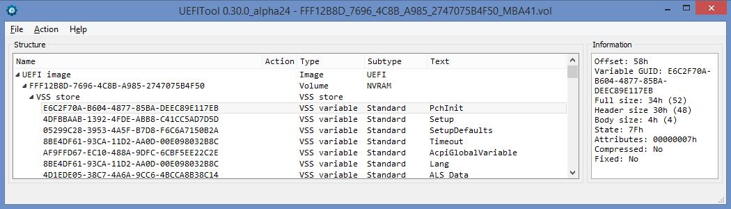 Устройство NVRAM в UEFI-совместимых прошивках, часть первая - 4