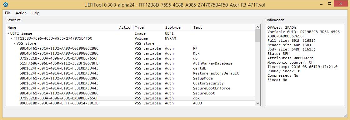 Устройство NVRAM в UEFI-совместимых прошивках, часть первая - 6