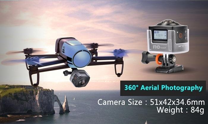 Экшн-амера Amkov AMK100S, снимающая фото с углом обзора 360°, оценена в $130