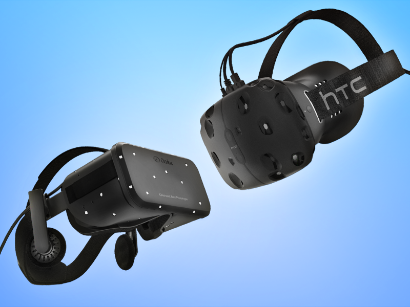 По оценке Strategy Analytics, в этом году будет продано 1,7 млн Oculus Rift, HTC Vive и PlayStation VR - 1