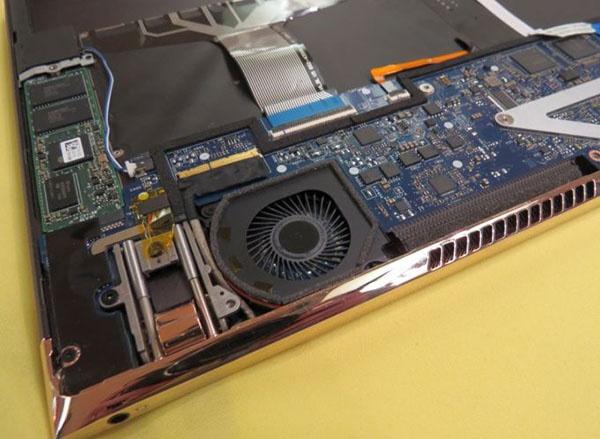 HP Spectre: вентилятор
