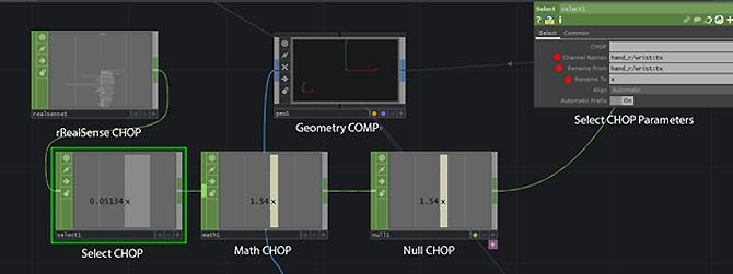 Использование камеры Intel RealSense с TouchDesigner. Часть 2 - 11