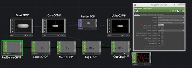 Использование камеры Intel RealSense с TouchDesigner. Часть 2 - 4