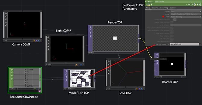 Использование камеры Intel RealSense с TouchDesigner. Часть 2 - 6