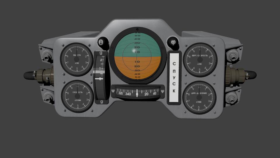 Космический корабль Восток-1 в 3D — рендерим в Blender - 2