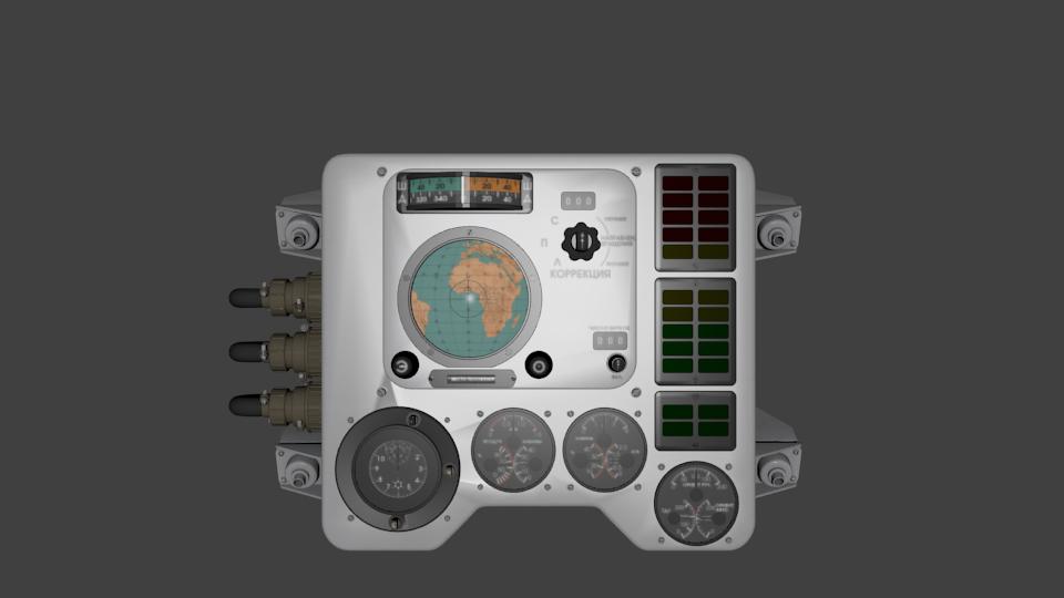 Космический корабль Восток-1 в 3D — рендерим в Blender - 3