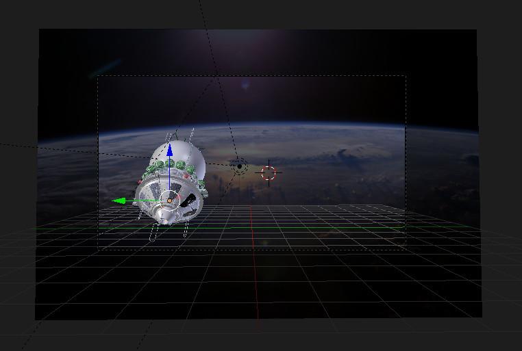 Космический корабль Восток-1 в 3D — рендерим в Blender - 8