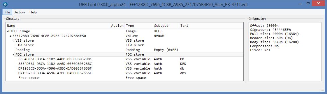 Устройство NVRAM в UEFI-совместимых прошивках, часть вторая - 7