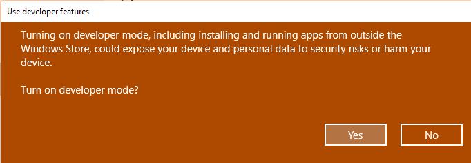 Включение подсистемы Linux в Windows 10 - 3