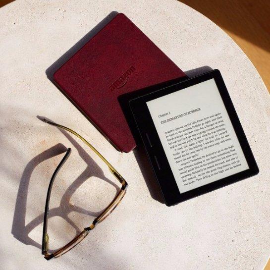 Amazon готовит к выпуску новую электронную книгу Kindle Oasis