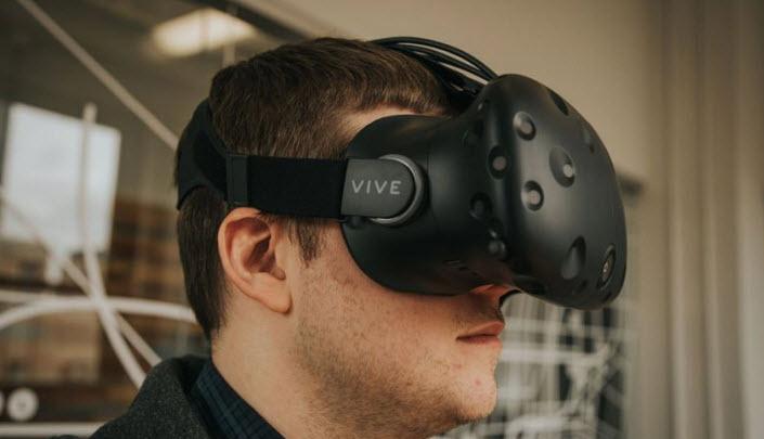 Microsoft и GameStop помогут HTC в продвижении шлема HTC Vive