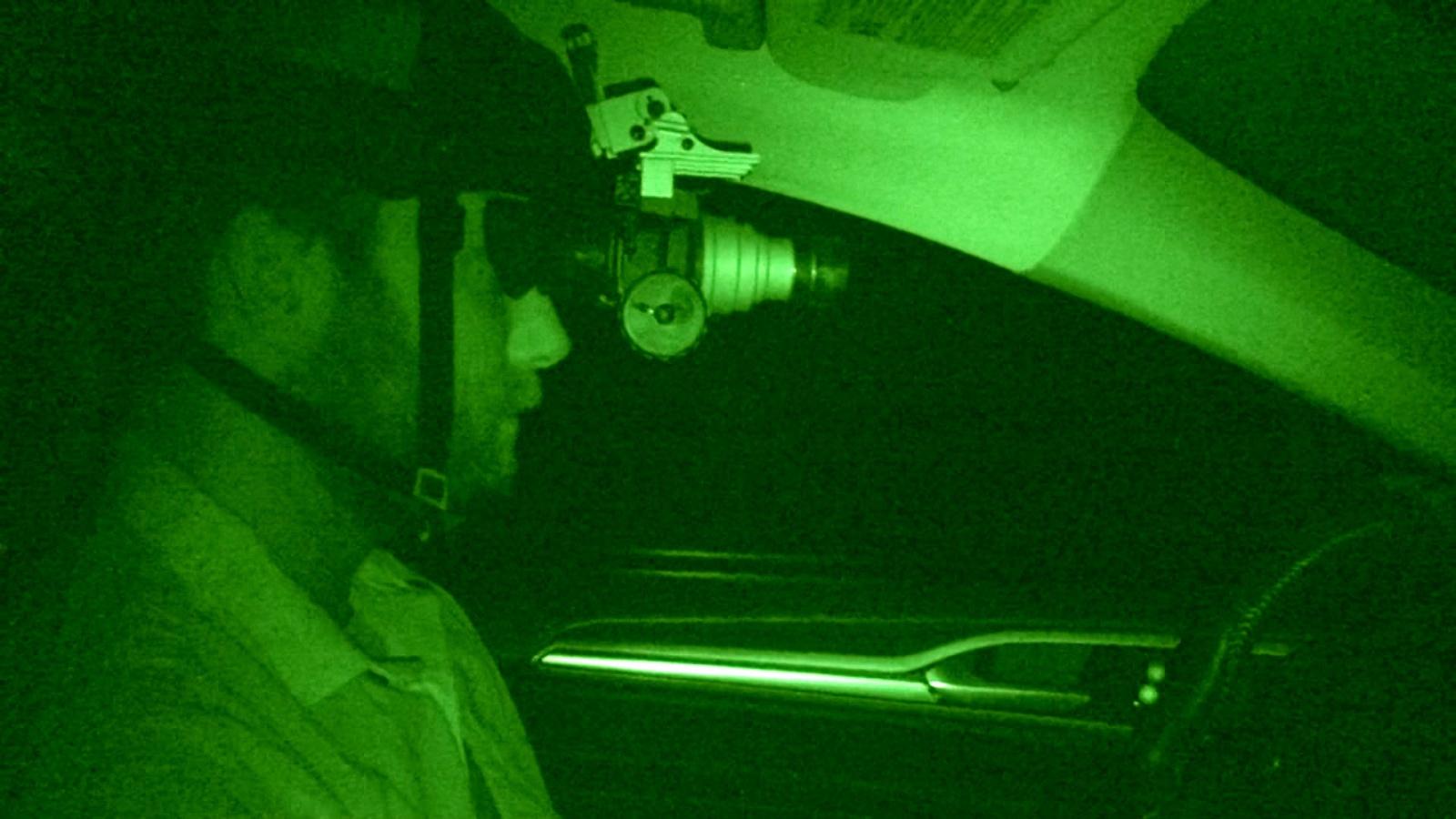 Беспилотный Ford проехал по трассе в кромешной темноте - 3