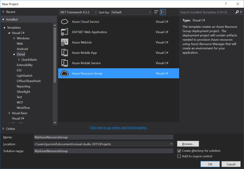 Как мы внедряли DevOps: инфраструктура-как-код с помощью Microsoft Azure и Azure Resource Manager - 5
