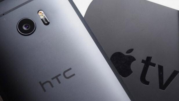 Смартфон HTC 10 оснащен поддержкой технологии Apple AirPlay