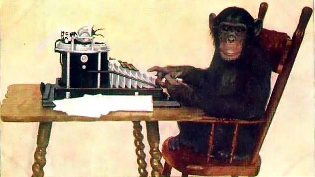Задача про обезьян и бесконечность - 1