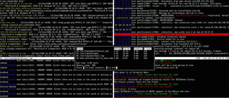 Более чем 80 средств мониторинга системы Linux - 35