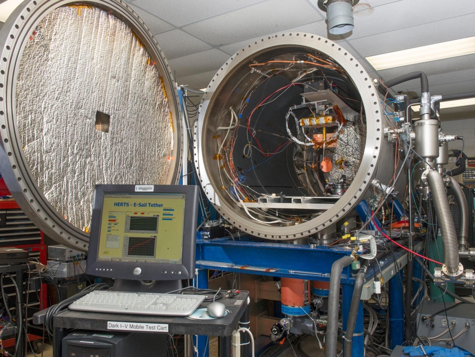 Электрический парус НАСА: первая проверка концепции - 3