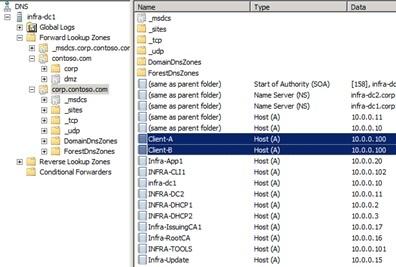 Как связаны длительность аренды DHCP и процесс сбора мусора в DNS - 1