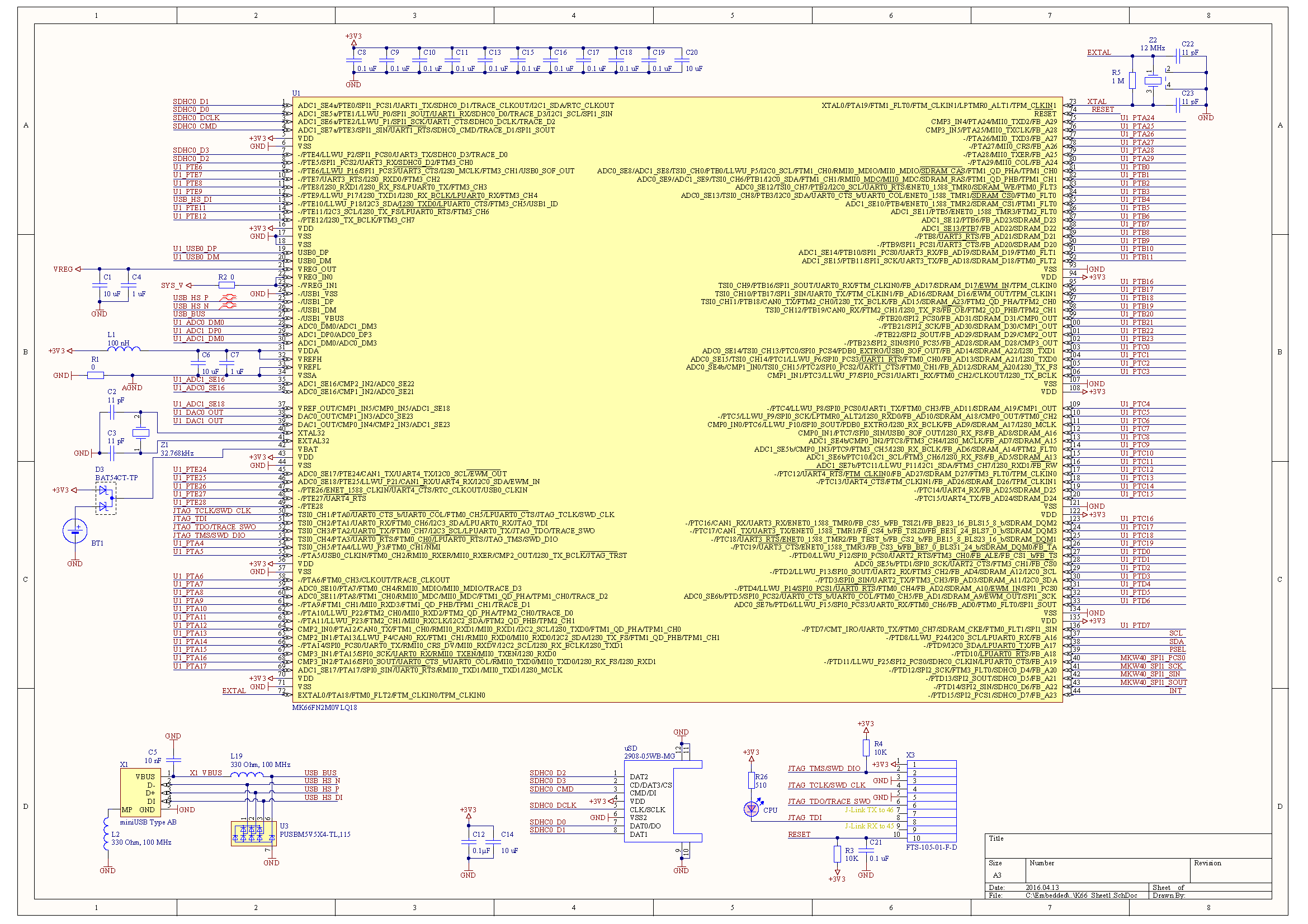 Модуль универсального контроллера для интернета вещей. Вдыхаем жизнь - 7