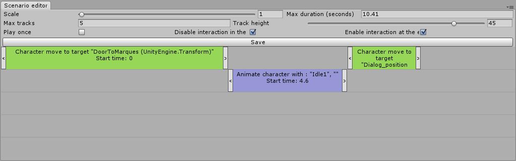 Создание редактора сценариев в Unity - 5