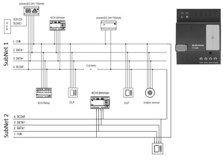 Умный дом. Разбираемся с проектированием цепи низкого напряжения системы - 4