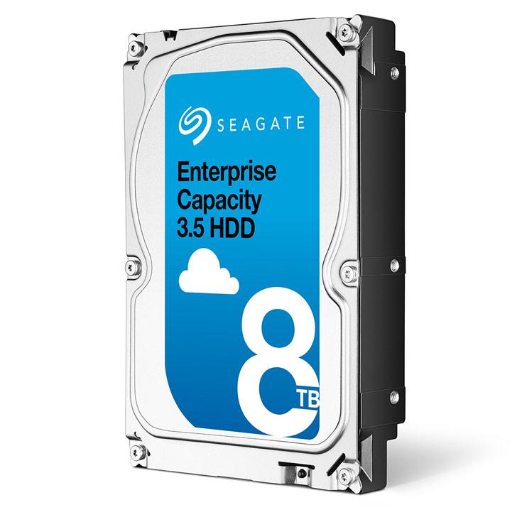 За квартал Seagate отгрузила 39 млн жестких дисков, заняв 40% рынка