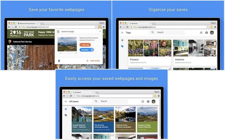 Google представила расширение Save to Google