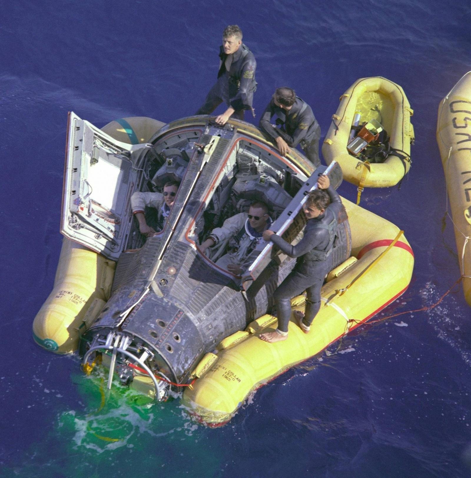 Летал ли на орбиту «Джемини»? - 2