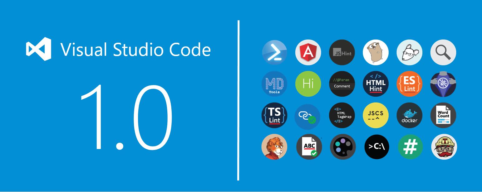 Первая версия Visual Studio Code 1.0 — путь от простого редактора до мощного инструмента - 1